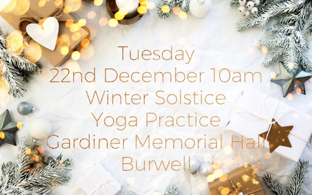 Winter Solstice Pre Christmas Practice
